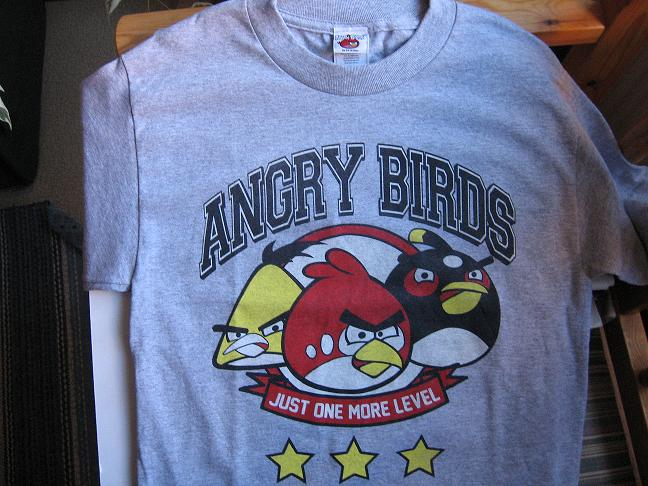 T-SHIRT. Angry Birds