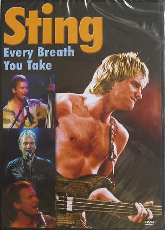 STING. Every breath you take