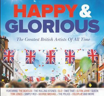 SAMLINGS CD. Happy & Glorious