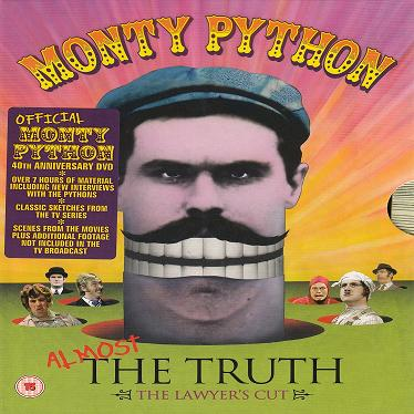 DVD-BOX. MONTY PYTHON. Allmost the truth