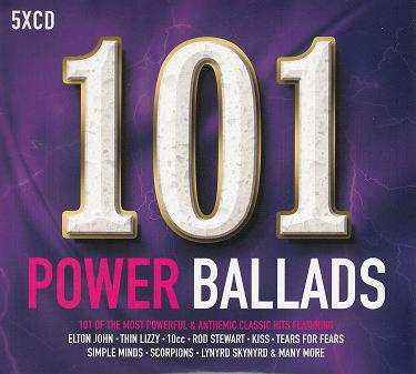 CD-BOX. 101 Power ballads