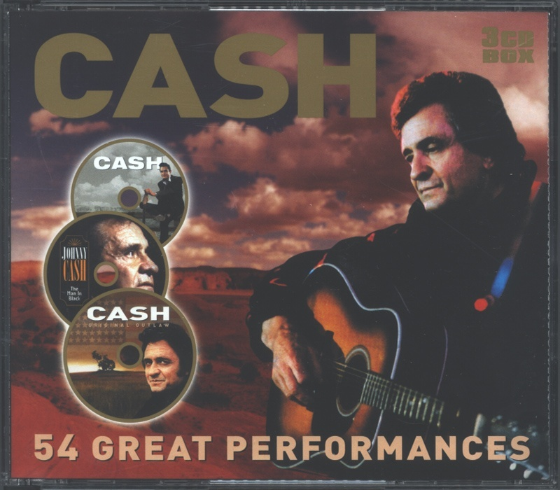 JOHNNY CASH. 54 great perf.