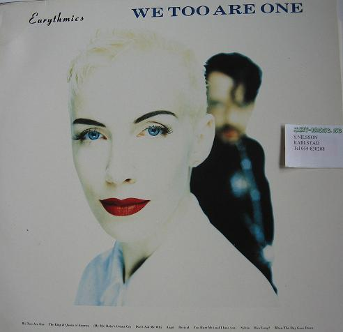 EURYTHMICS. We too are one